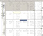 planned maintenance scheduling table